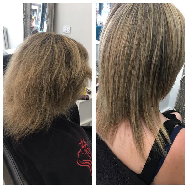 Beautiful Keratin Blowdry